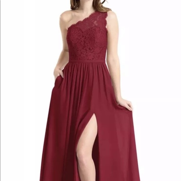 8cc95c69cdf Azazie Dresses   Skirts - Azazie Burgundy Brides Maid Holiday Prom Dress